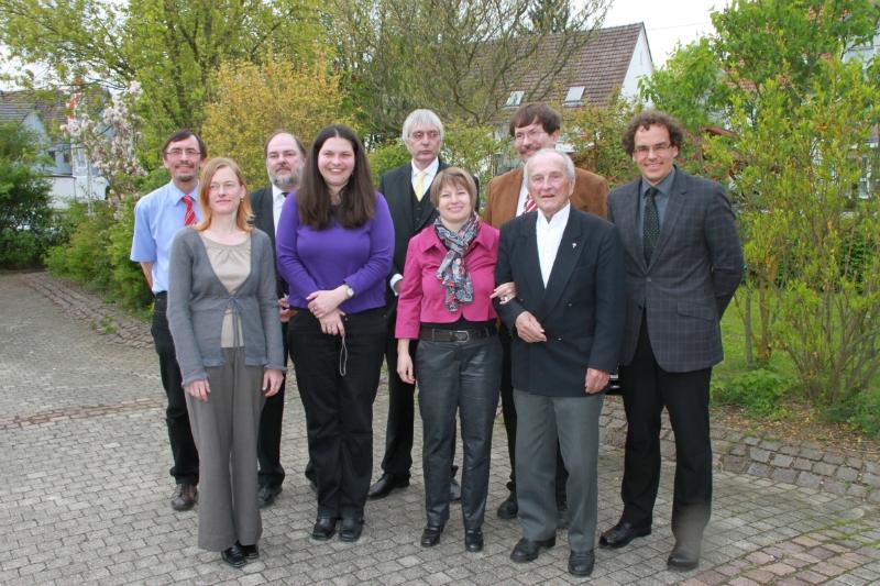 Empfinger Pfarrer(innen) Gemeindehaus-Jubiläum 2010