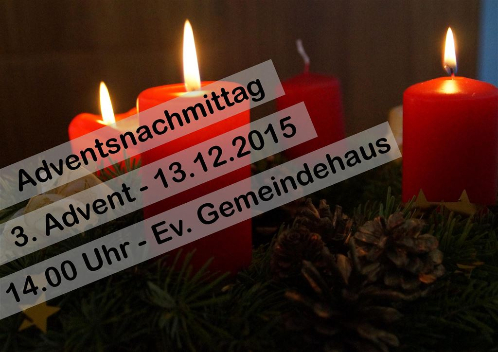 Adventsnachmittag 2015